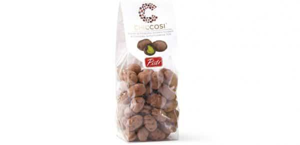 Sicīlijas pistācijas pārklātas ar tumšo šokolādi