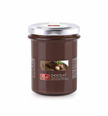 šokolādes - lazdu riekstu krēms